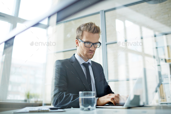Serious manager - Stock Photo - Images