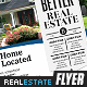 Better Real Estate Flyer Template v8 - GraphicRiver Item for Sale