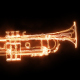 Burning Jazz Trumpet - VideoHive Item for Sale
