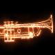 Burning Jazz Trumpet - VideoHive Item for Sale