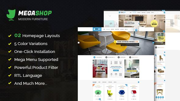 Megashop - Responsive Multipurpose OpenCart Theme
