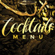 Cocktail Menu - GraphicRiver Item for Sale