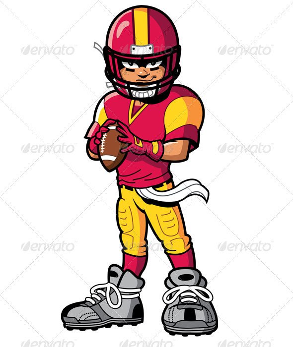 football player sportsactivity conceptual