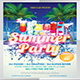 Summer Party Flyer - GraphicRiver Item for Sale