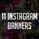 Instagram Banner - GraphicRiver Item for Sale