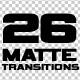 26 Simple Matte Transitions - VideoHive Item for Sale