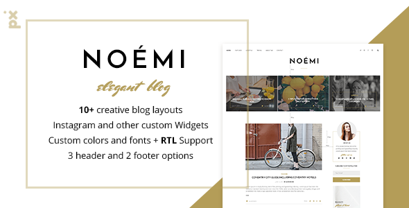 Noemi – Pure & Simple WordPress Blog