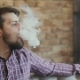 Man Exhaling Smoke From a Vaporizer.  - VideoHive Item for Sale