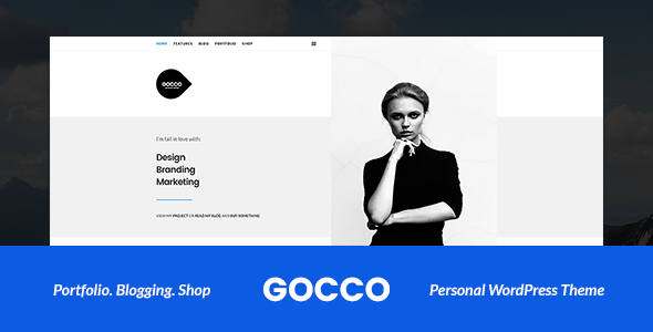 Gocco – Portfolio WordPress Theme