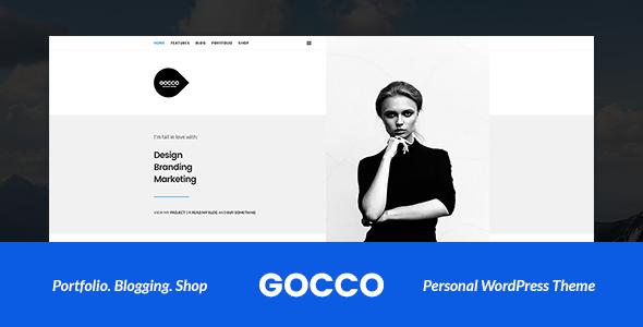 Gocco – Portfolio WordPress Theme