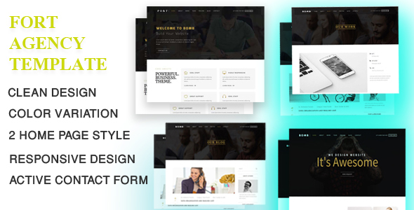 Fort – Corporate Agency Template