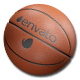 Editable Rotating Basketball - VideoHive Item for Sale