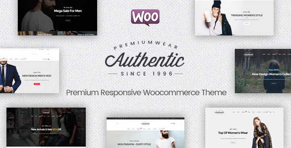 Authentic – Multipurpose Responsive WooCommerce WordPress Theme