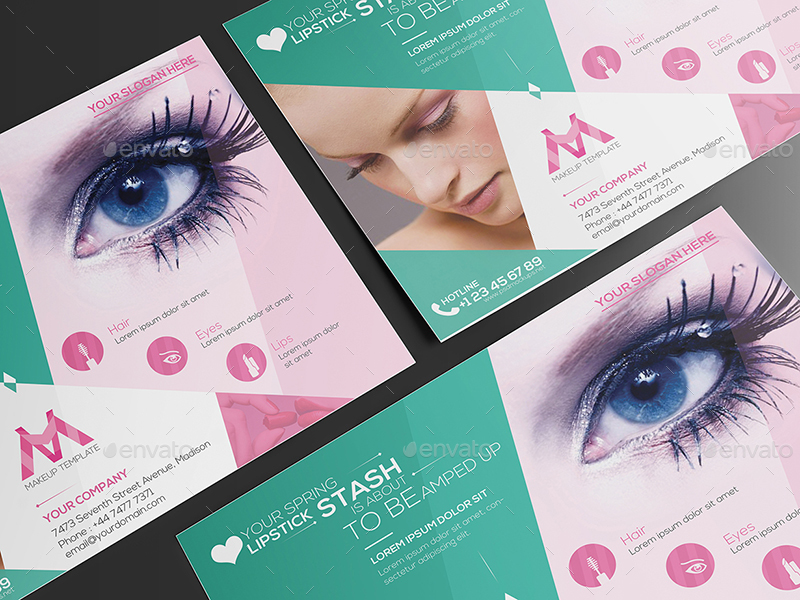 Makeup/ Flyer Template by wutip2 | GraphicRiver