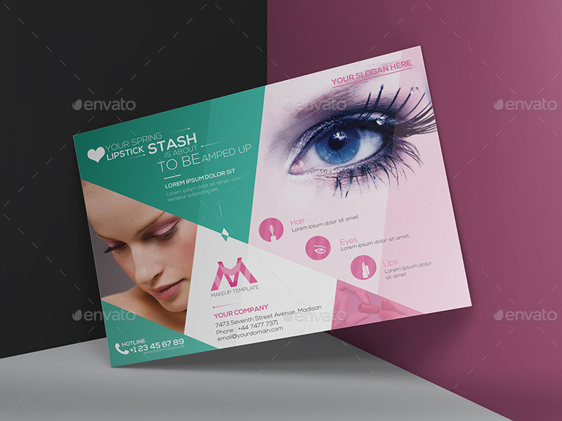 Makeup Flyer Template By Wutip2 Graphicriver