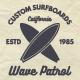 Vintage Surfing Badges & Tee Designs - GraphicRiver Item for Sale