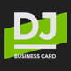 ProDJ - DJ / Producer Business Card PSD Template - GraphicRiver Item for Sale