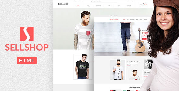 Sell Shop – eCoommerce HTML5 template
