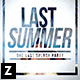 Last Summer Party Flyer - GraphicRiver Item for Sale