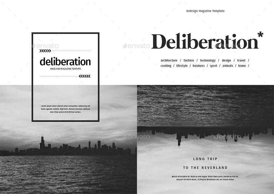 32 Pages Minimal Magazine