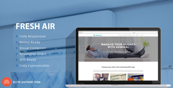 FreshAir – Air Conditioning & Heating WP Theme