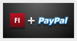 Paypal + Flash Shopping Carts and Buy Now Buttons