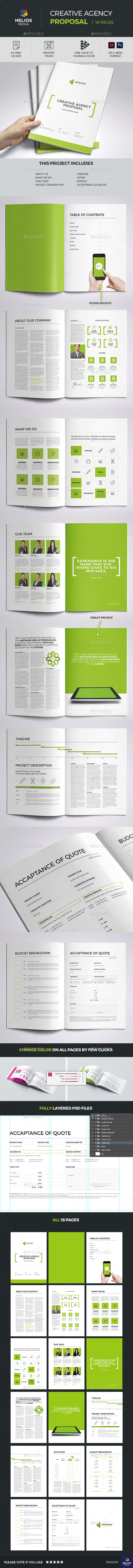 Propsal Template  - Proposals & Invoices Stationery
