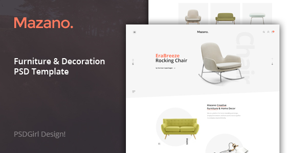 Mazano – Multi-purpose PSD Template