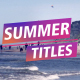 Summer Titles - VideoHive Item for Sale