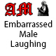 Short Embarrassed Male Laughing