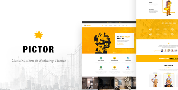 Construction – Building Business WordPress Theme