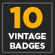 10 Vintage Logo Collection Volume 1 - GraphicRiver Item for Sale