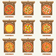 Pizzas in the Opened Cardboard Boxes - GraphicRiver Item for Sale