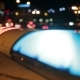 Police Lights Flashing At Night Downtown - VideoHive Item for Sale