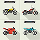Motorcycles Illustrations Set - GraphicRiver Item for Sale