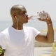 Black Male Athlete Finishing His Sports Beverage - VideoHive Item for Sale