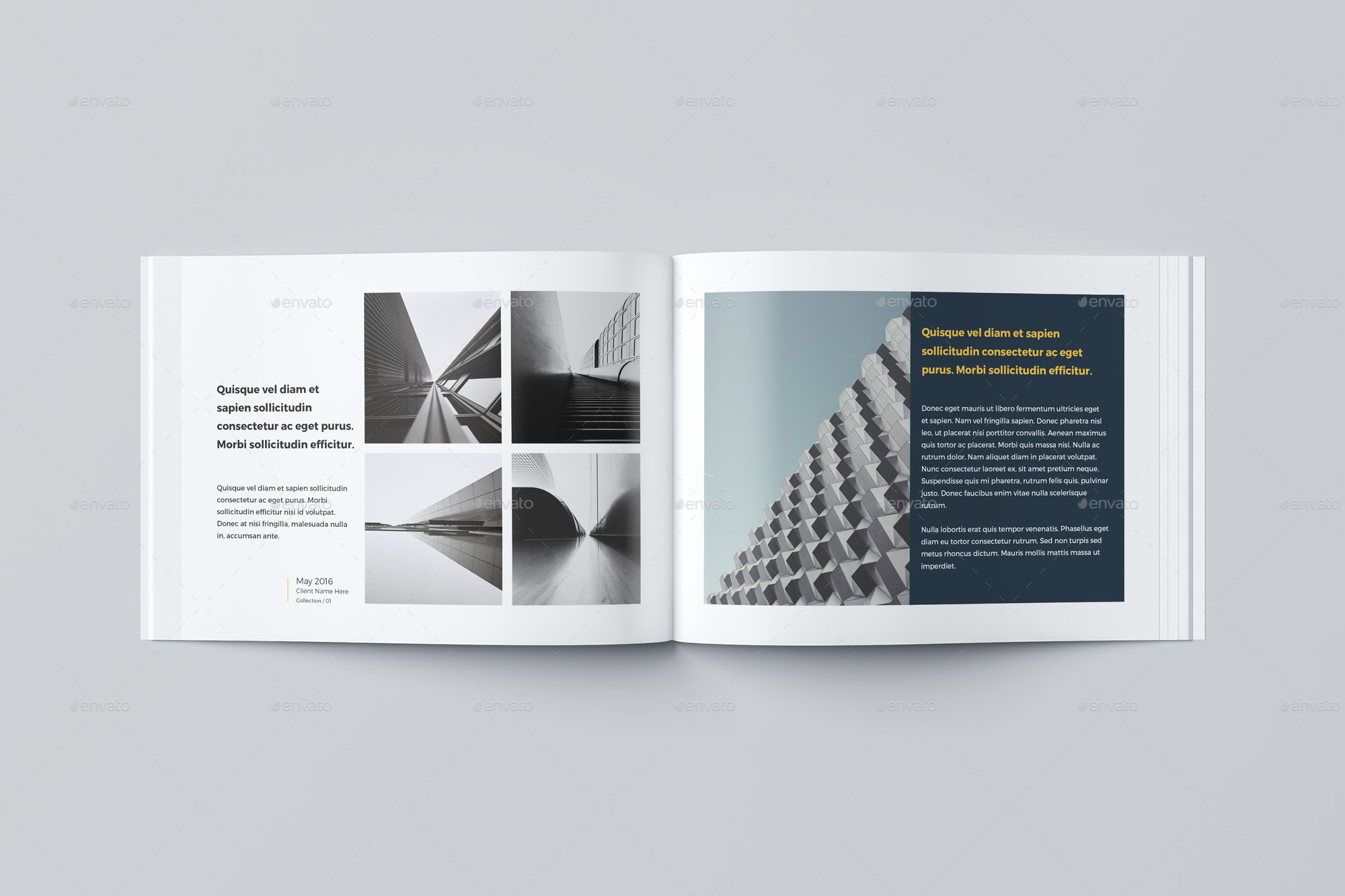 Our portfolio architecture 24 pages a4 a5 by pro gh for Architecture portfolio dimensions