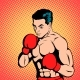 Boxer Comics Style - GraphicRiver Item for Sale