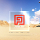 Elegant Logo in Desert - VideoHive Item for Sale