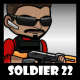 Soldier Character 22 - GraphicRiver Item for Sale