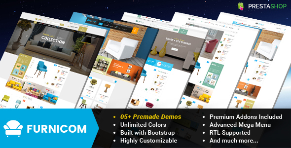 Furnicom – Responsive Prestashop Furniture Theme