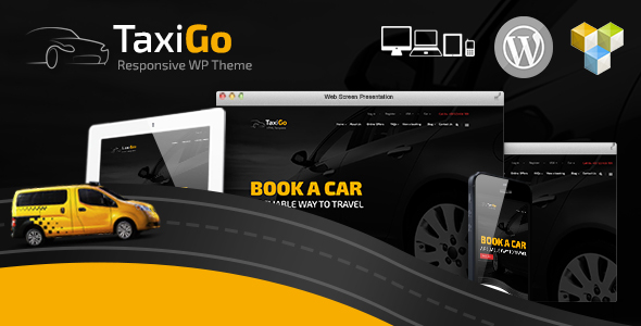 TaxiGo - Taxi Company & Cab Service WordPress Theme - Travel Retail