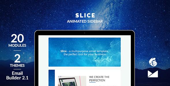 Slice-builder Email Template + Online Emailbuilder 2.1