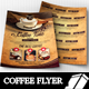 Coffee Time Menu Flyer Templates - GraphicRiver Item for Sale