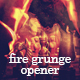 Fire Burning Grunge Opener - VideoHive Item for Sale