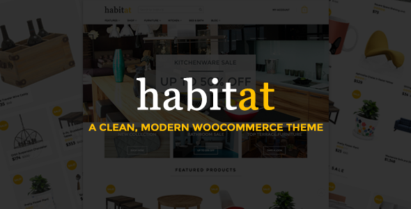 Habitat: Multi-Purpose WooCommerce Theme