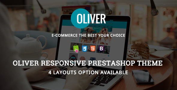 Oliver – Responsive Prestashop Theme.