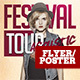 Festival Tour Flyer Template - GraphicRiver Item for Sale
