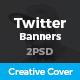 Twitter Creative Cover - GraphicRiver Item for Sale