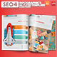 Digital SEO 4 Infographic Elements Design